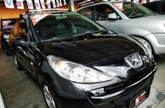 Peugeot 207 Sedan 1.4 4P PASSION XR FLEX Flex 2009