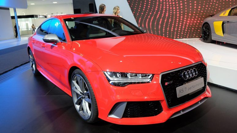 Salão de SP: carro do Neymar, - Audi RS 7 Sportback Performance chega por R$ 729.990.