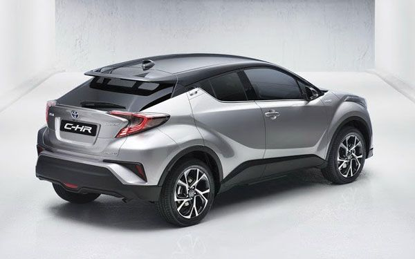 Toyota C-HR 2017 - Fotos do concorrente do Honda HR-V