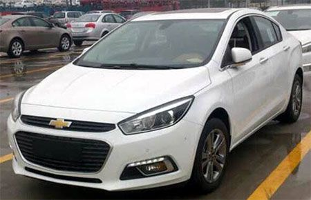 Novo Chevrolet Cruze 2015 - Confira fotos da 2� gera��o do modelo na China