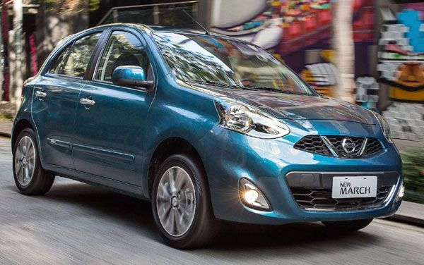Nissan New March 2015 - Confira pre�os, consumo e especifica��es