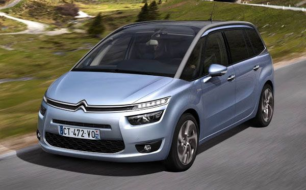 Nova Citroën Grand C4 Picasso - Carro segue visual futurístico da irmã de cinco lugares